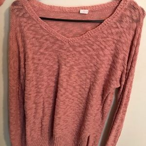 Sweaters - Pink wild heart sweater